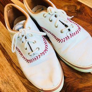 Vintage Keds Baseball Championship Fashion Shoes